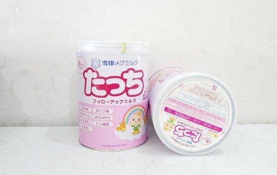 6 loại sữa Nhật tăng cân cho bé dưới 1 tuổi Morinaga, Glico, Meiji,..