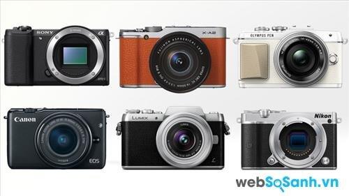6 máy ảnh Mirroless tốt nhất cho người mới làm quen