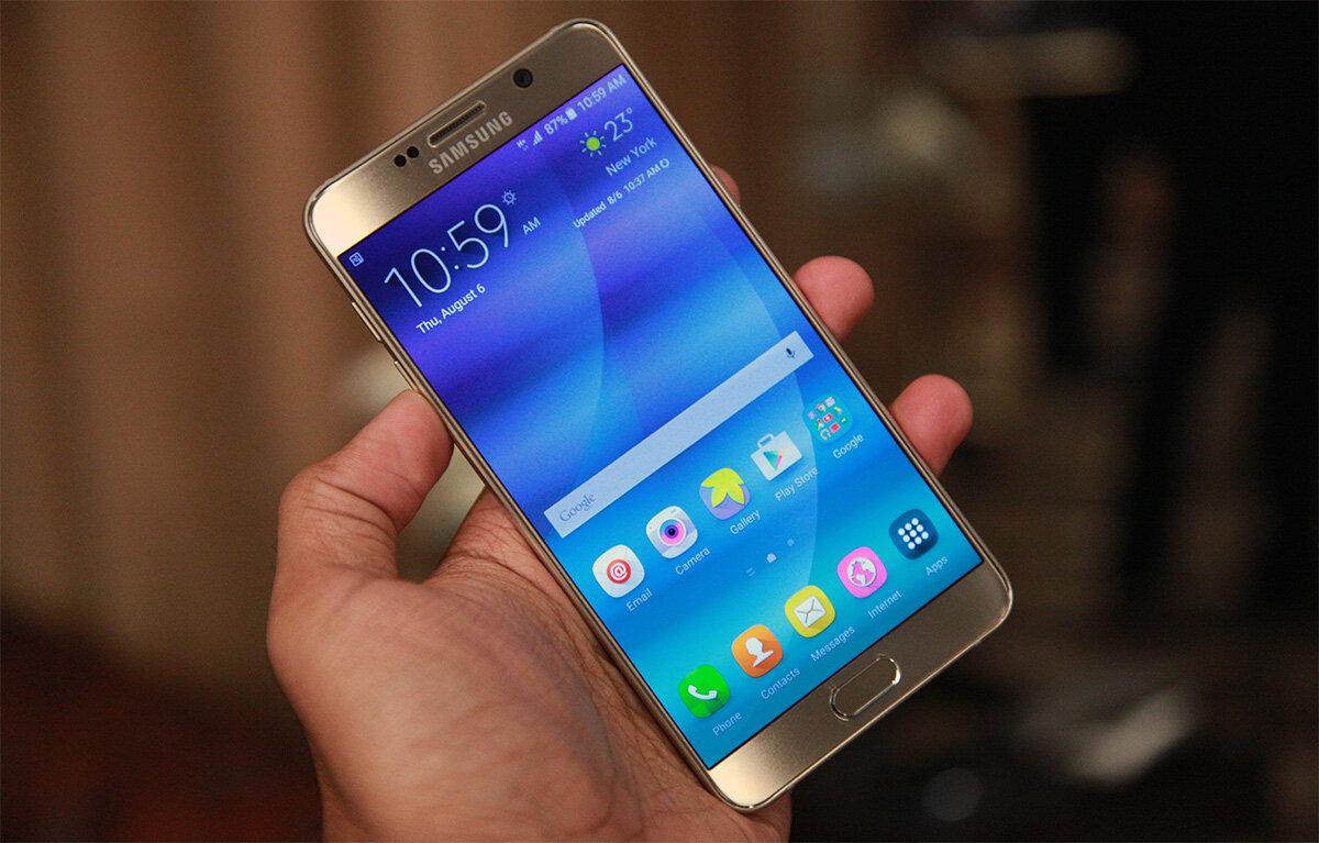 6 thủ thuật nâng cao thời lượng pin trên Samsung Galaxy Note5