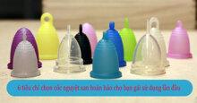 6 tiêu chí chọn cốc nguyệt san hoàn hảo cho bạn gái sử dụng lần đầu