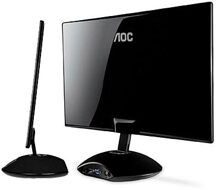 Ðánh giá màn hình AOC e2343Fi – màn hình máy tính cho tín đồ Apple