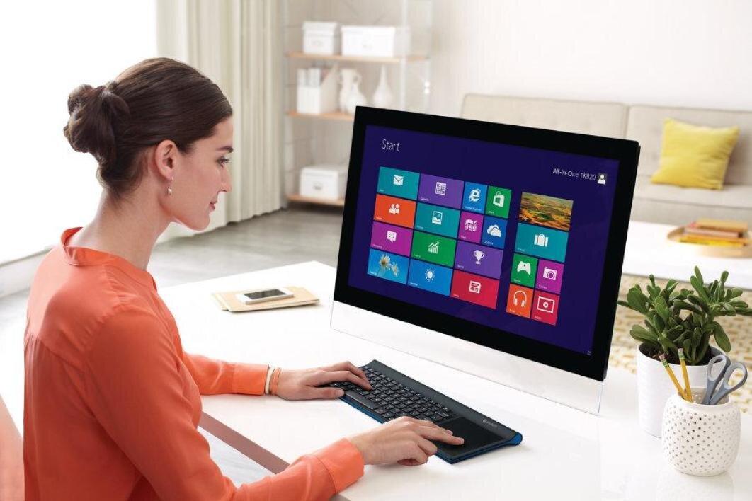Máy tính liền màn hình