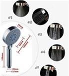 Vòi tắm hoa sen tăng áp lực 5 chức năng-VDC 109