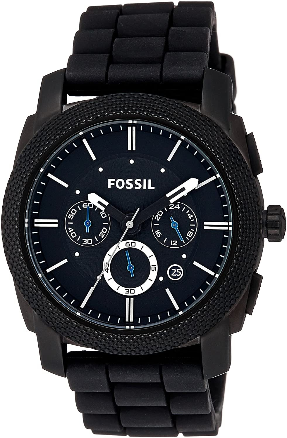 Buy Fossil Machine Chronograph Black Dial Men's Watch - FS4487 at Amazon.in