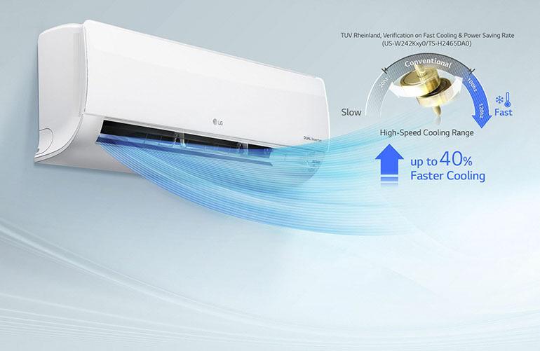 3 model điều hoà LG inverter cho chất lượng tốt nhất hiện nay