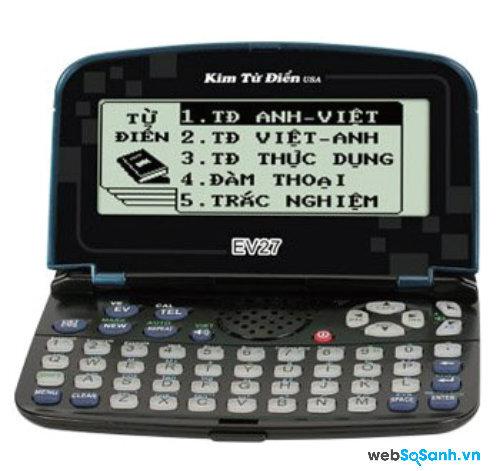 Kim từ điển EV27. Nguồn Internet.