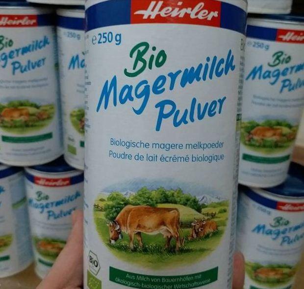 Sữa tươi hữu cơ dạng bột Heirler Bio