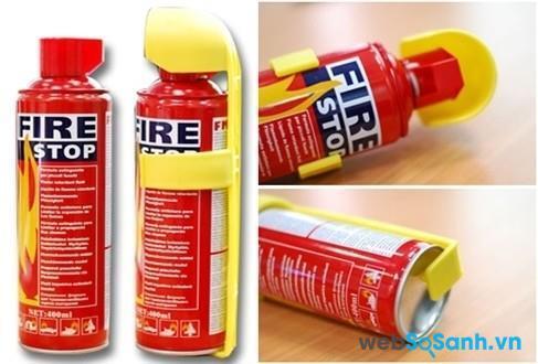 Bình cứu hỏa mini Trung Quốc có ưu điểm là giá rẻ
