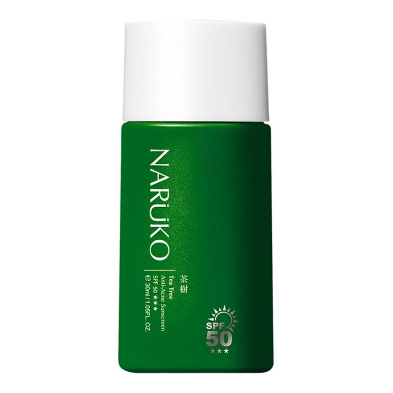 Kem chống nắng naruko Tea Tree Anti-Acne Sunscreen SPF50