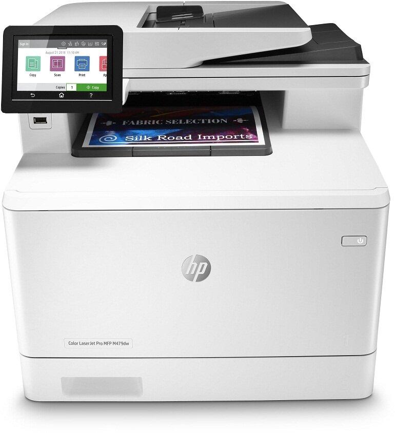 Máy in ảnh HP Color LaserJet Pro M479fdw đa năng
