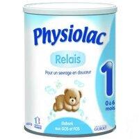 Sữa bột Physiolac số 1 - hộp 400g (dành cho trẻ từ 0 - 6 tháng)