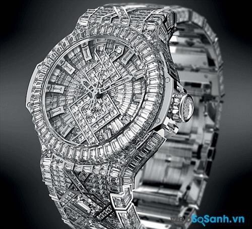 Chiếc đồng hồ trị giá 5 triệu đô - đắt nhất thế giới của Hublot