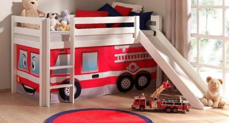 5 điều kiện cần và đủ để bạn nên mua giường tầng trẻ em có cầu trượt cho bé