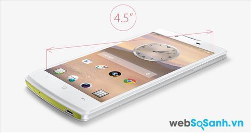 Điện thoại Neo 3 được Oppo trang bị cho một màn hình IPS LCD 4.5 inch có độ phân giải 480 x 854 pixel và có mật độ điểm ảnh 217 ppi.