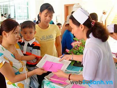 Trẻ em dưới 6 tuổi được miễn phí hoàn toàn chi phí khám chữa bệnh