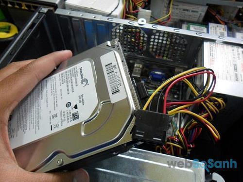 Tận dụng ổ cứng máy tính cũ hiệu quả