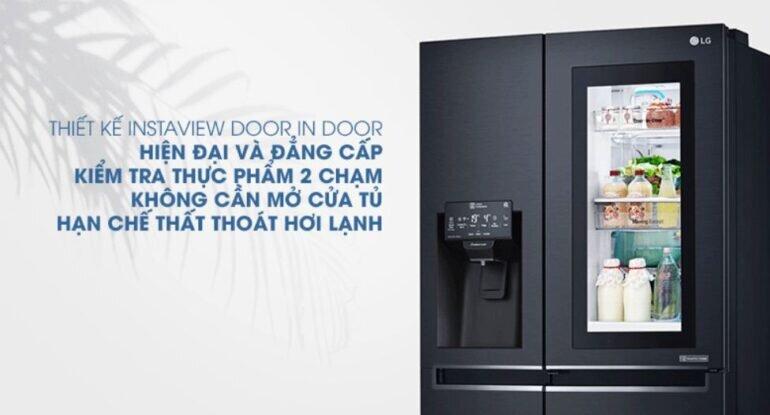 Tủ lạnh LG tiêu thụ điện nhiều hơn tủ lạnh các hãng cùng dung tích khác