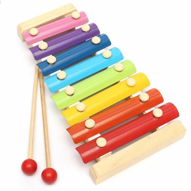Nhạc cụ gỗ giúp bé 2 tuổi phát triển trí não