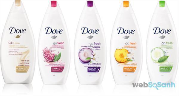 Sữa tắm trắng da Dove