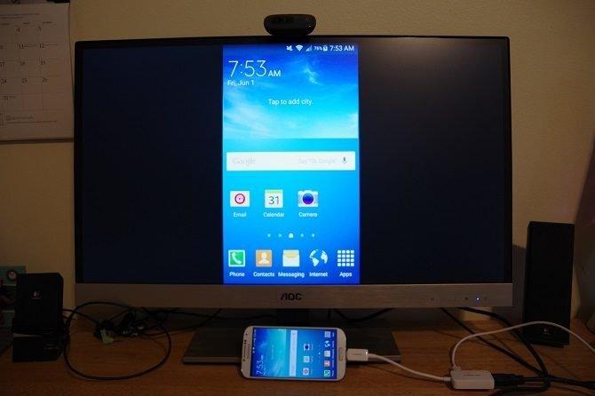 kết nối điện thoại và laptop xem hình ảnh và video