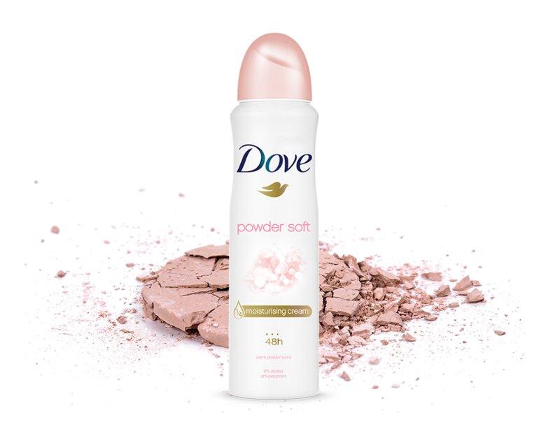 xịt khử mùi Dove