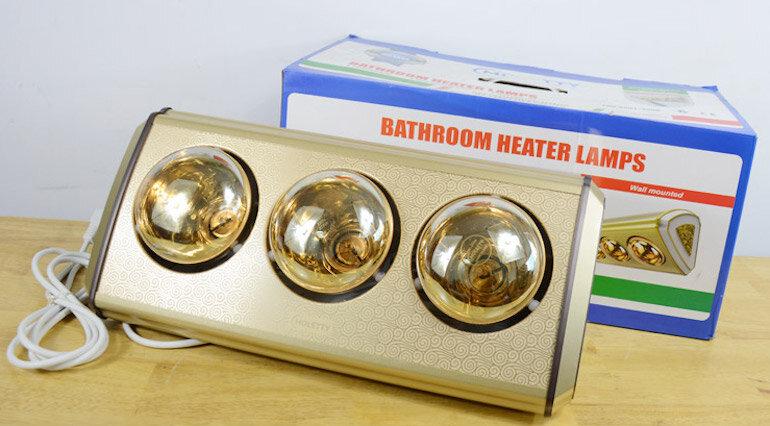 Đèn sưởi phòng tắm 3 bóng Moletty M-03HR