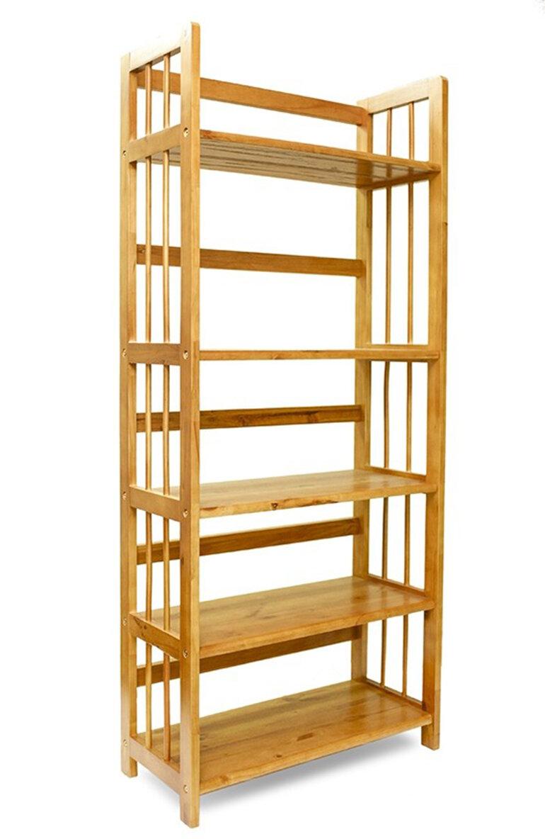 kệ sách gỗ 5 tầng