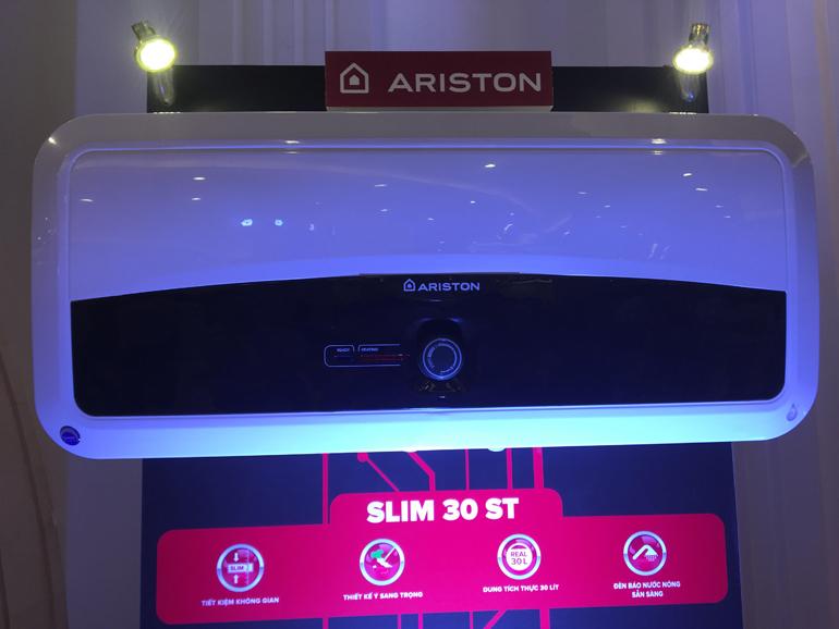 Bình nóng lạnh Ariston thiết kế đẳng cấp và sang trọng