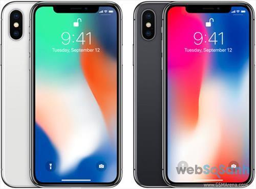 giá iphone X chính hãng giảm