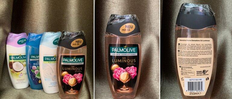 Sữa tắm Palmolive Đức - Giá tham khảo khoảng 120.000 vnđ/ chai 250ml