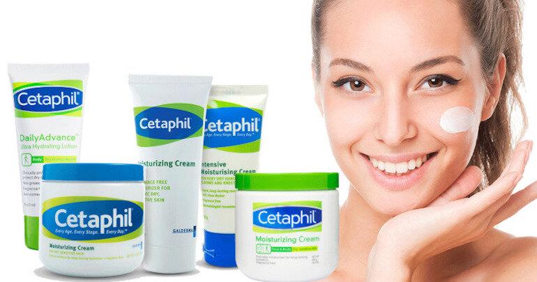Kem dưỡng ẩm Cetaphil sản xuất bởi thương hiệu uy tín
