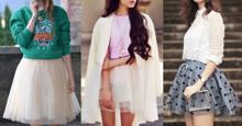 Tulle Skirt chiếc chân váy mà mọi cô gái đều nên sở hữu để mix cho những set đồ SANG CHẢNH
