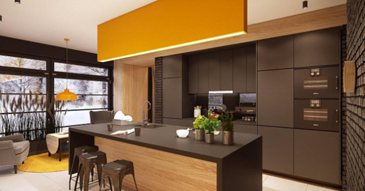 7 gợi ý sáng tạo thiết kế ánh sáng cho không gian nhà bếp đẹp nhất 2018