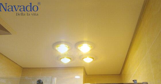 7 lý do để bạn chọn đèn sưởi âm trần Navado cho mùa đông này