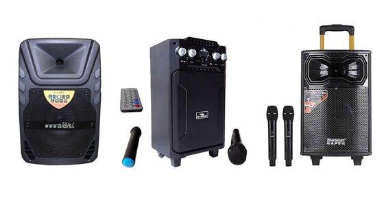 7 mẫu loa kéo mini dùng để trợ giảng, hát karaoke