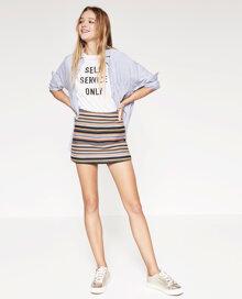 7 mẫu quần short giả váy Zara mới nhất giúp bạn năng động suốt cả mùa hè