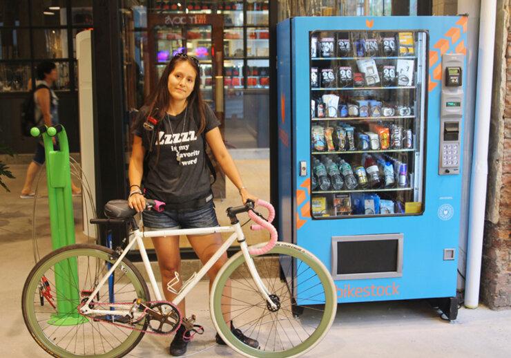 7 máy bán hàng tự động độc đáo dành cho xe đạp