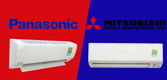7 tiêu chí so sánh điều hòa Mitsubishi và Panasonic mua loại nào tốt