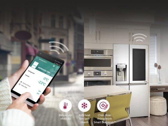 7 tính năng ưu việt của tủ lạnh LG Side By Side cùng 3 mẫu đang bán chạy nhất