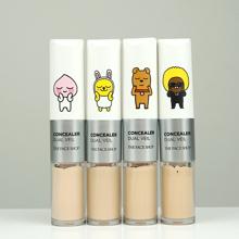 Review kem che khuyết điểm hai đầu The Face Shop Concealer Dual Veil Kakao Friends