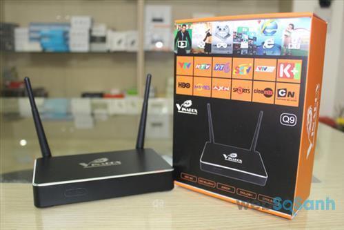 Chọn mua Android tivi box từ thương hiệu uy tín