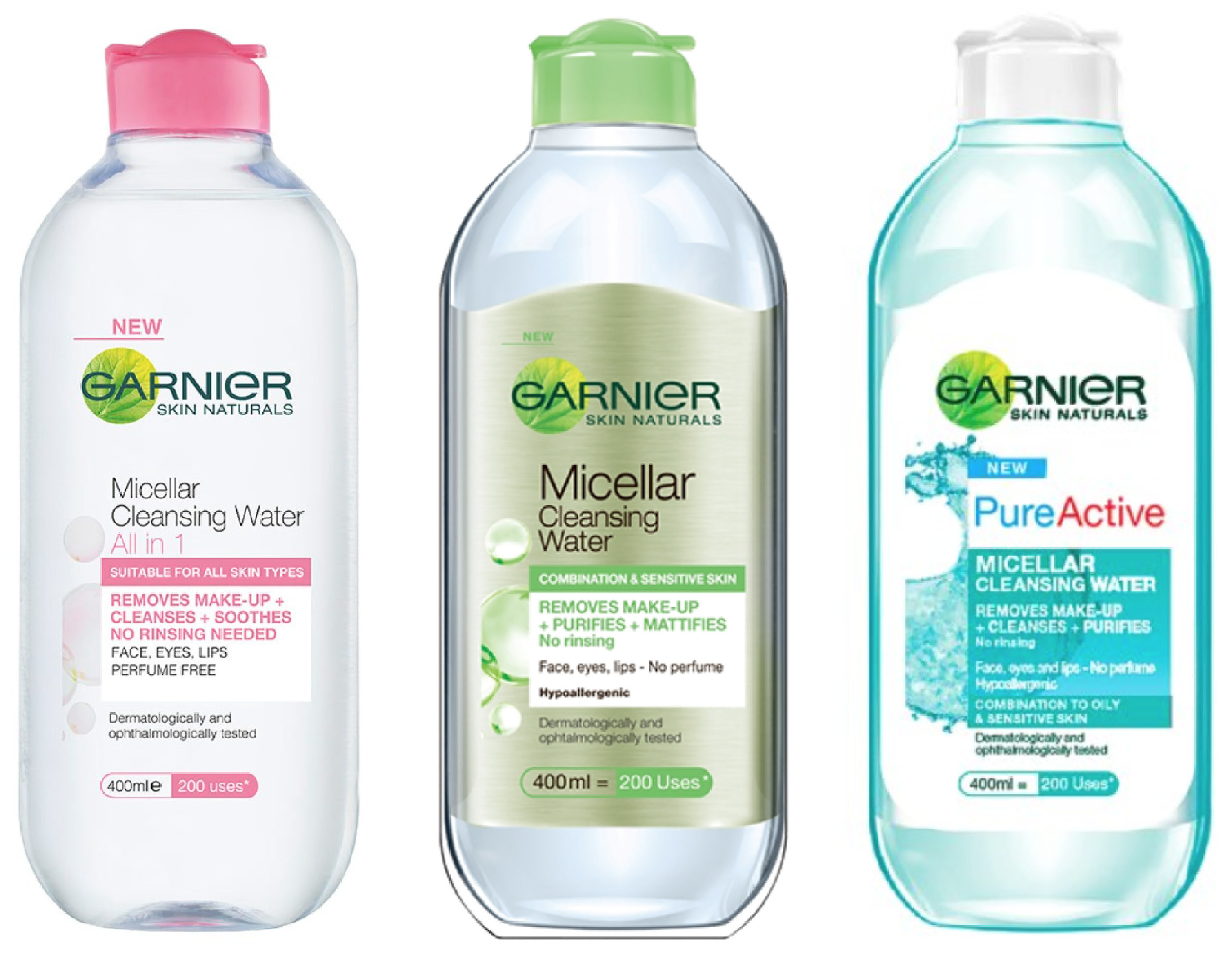 Nước tẩy trang Garnier Skin Micellar Cleansing Water