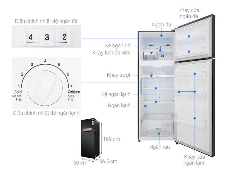 Tủ Lạnh LG Inverter 315 Lít GN