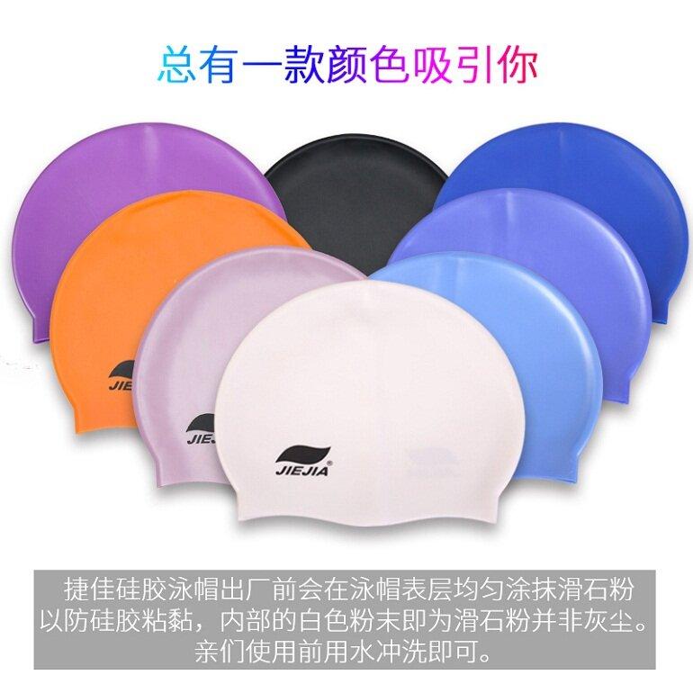 Mũ bơi silicon rất đa dạng về kiểu dáng và màu sắc