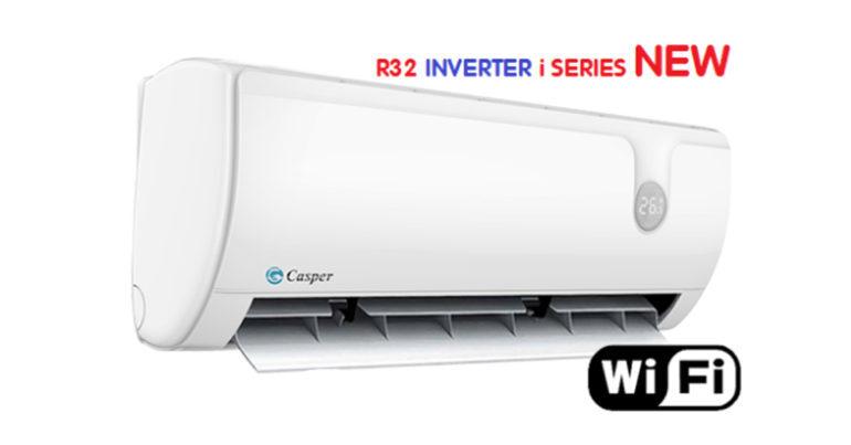 Gọi tên các model điều hòa Casper R32 i-Series inverter mới nhất 2019