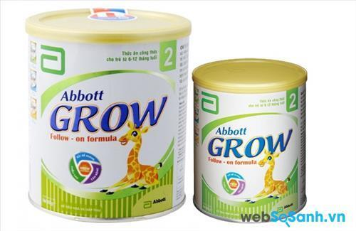 Sữa bột Abbott Grow 2