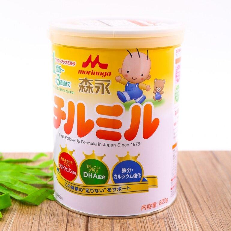 Sữa bột Morinaga được đánh giá là sữa bột mát nhất của Nhật Bản, rất phù hợp với các bé sinh mổ