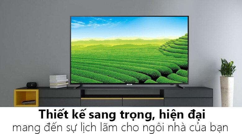 Thiết kế Tivi Samsung 4K được đánh giá là sang trọng, đẳng cấp
