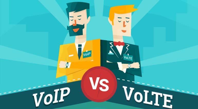 So sánh sự khác biệt giữa cuộc gọi VOIP và VOLTE
