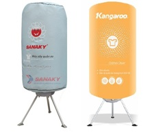 So sánh máy sấy quần áo Sanaky AT-900T và máy sấy quần áo Kangaroo KG308